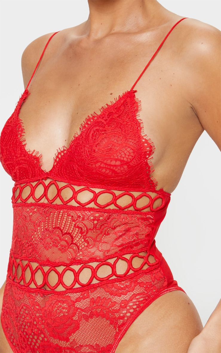 Red Ring Embroidered Body 6