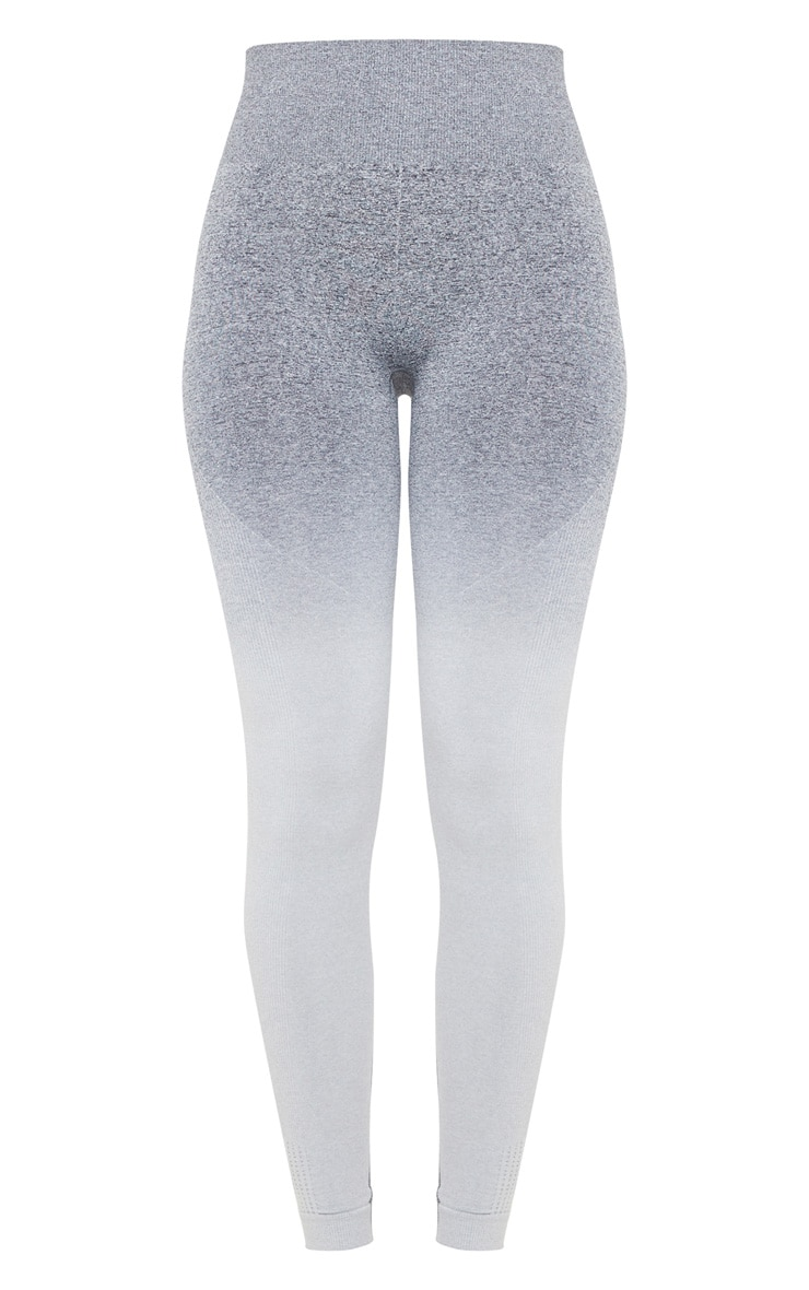 Grey Marl Ombre Seamless Leggings 3
