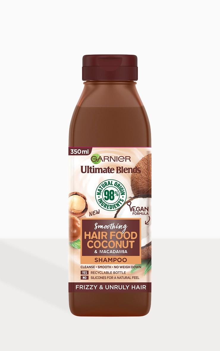 Garnier - Shampooing cheveux frisés Hair Food - Coconut 350 ml 2