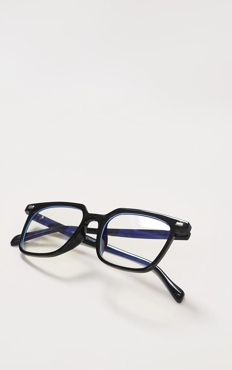 Black Classic Frame Blue Light Readers 4