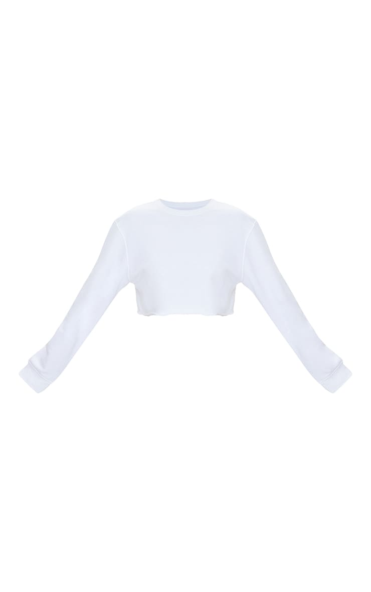 Petite White Ultimate Cropped Sweater 5