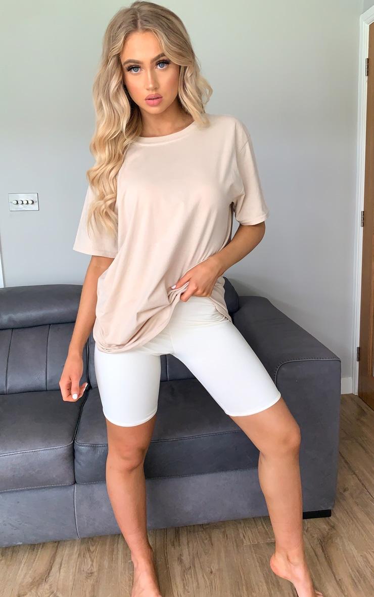 Sand La Oversized T Shirt 3
