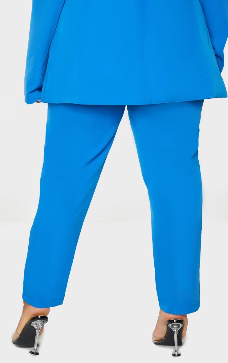 Plus Blue Cropped Pants 3