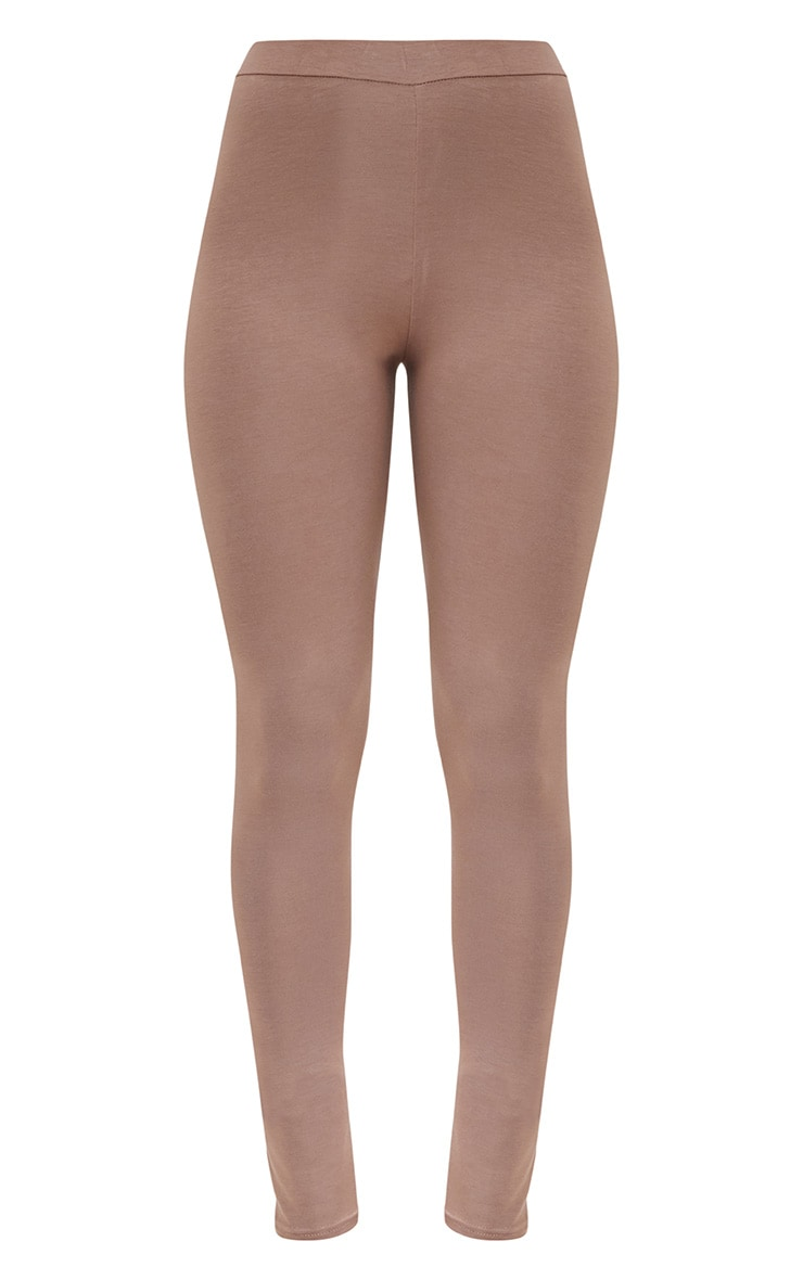 Taupe Ultimate Jersey High Waisted Leggings 3