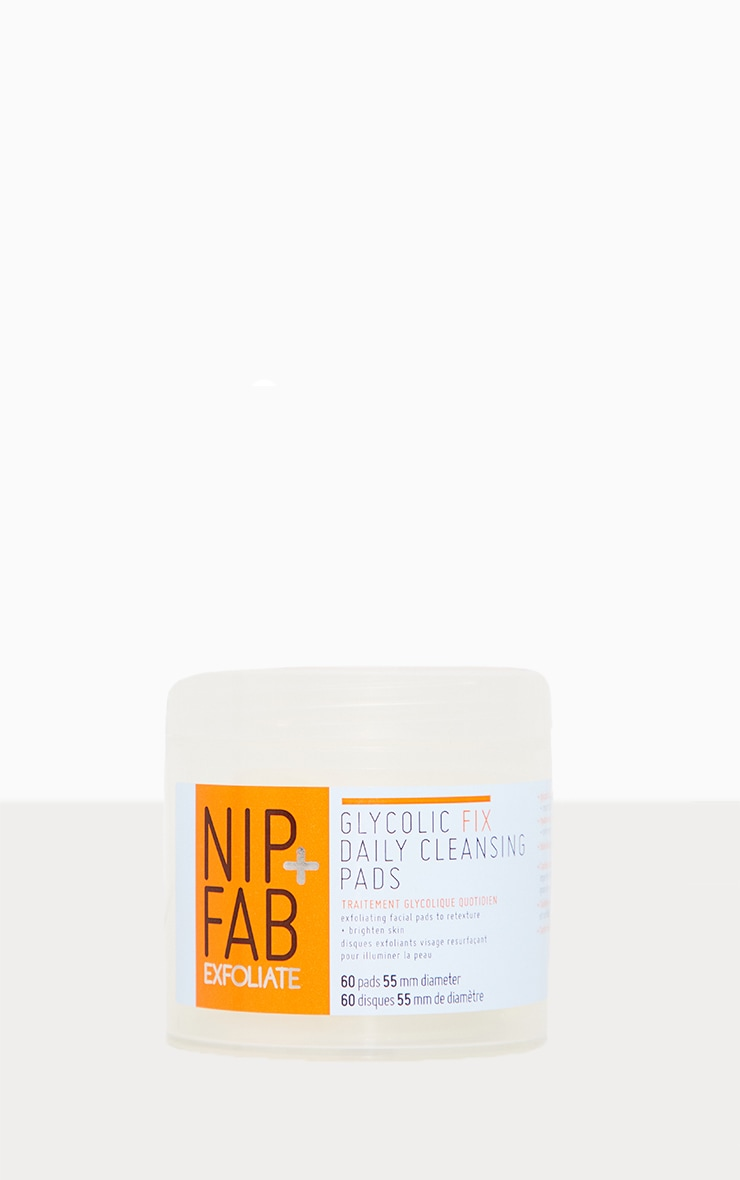 Nip + Fab Glycolic Fix Daily Cleansing Pads 2