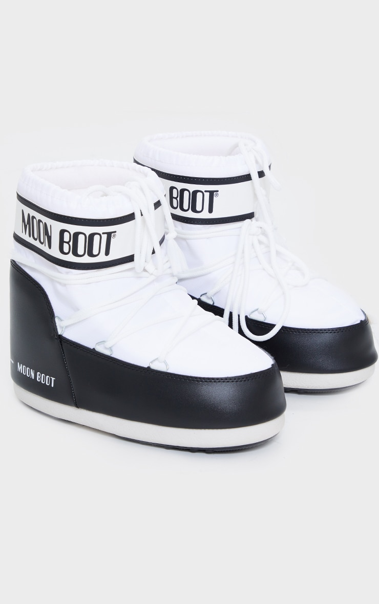Moon Boot White Classic Low 3