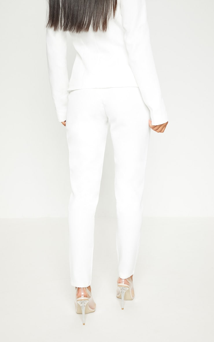 Avani Cream Suit Trousers 4
