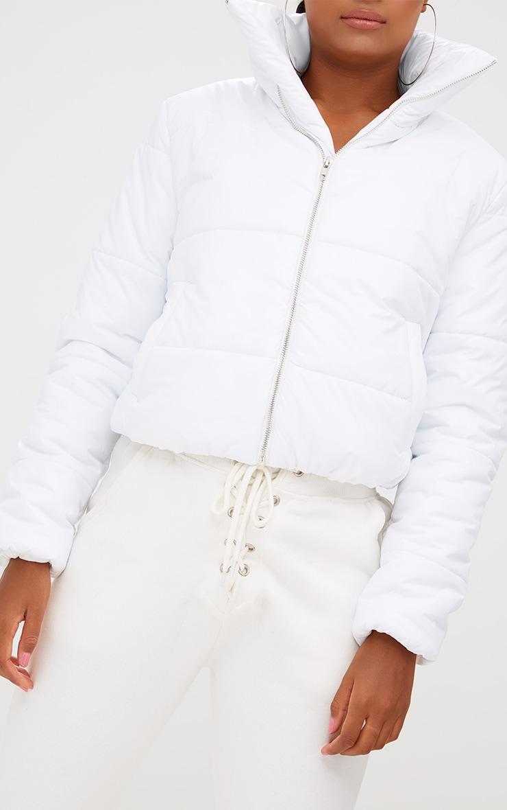 White Puffer Jacket 5