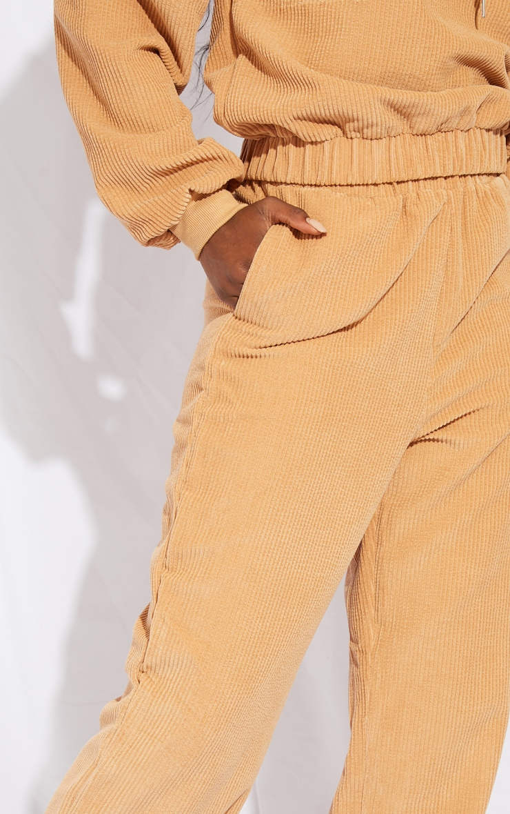Tall Stone Oversized Cord Detail Joggers 4