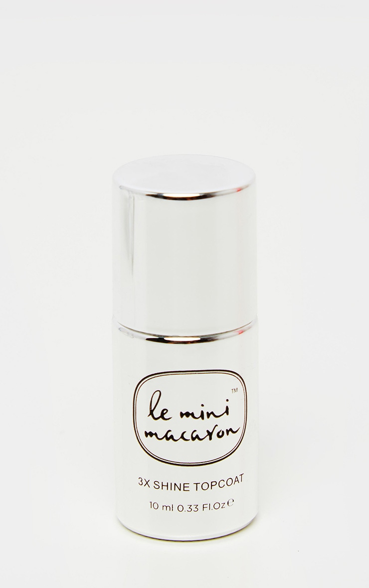Le Mini Macaron - Vernis top coat brillant 2