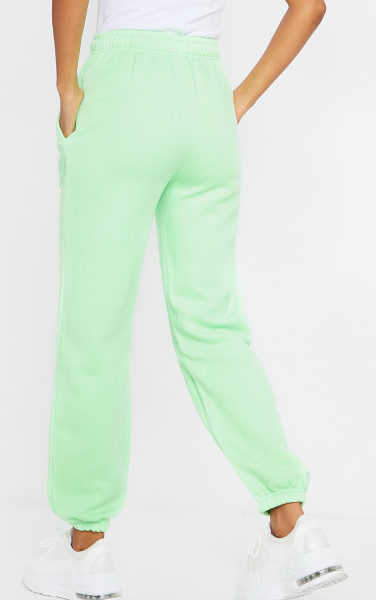 Apple Green Casual Joggers 3