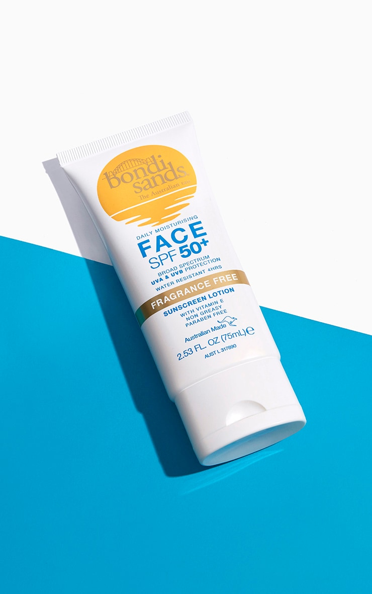 Bondi Sands Sunscreen Face Lotion Spf 50+