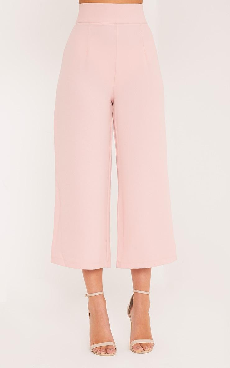 Tazmin jupe-culotte taille haute blush 2