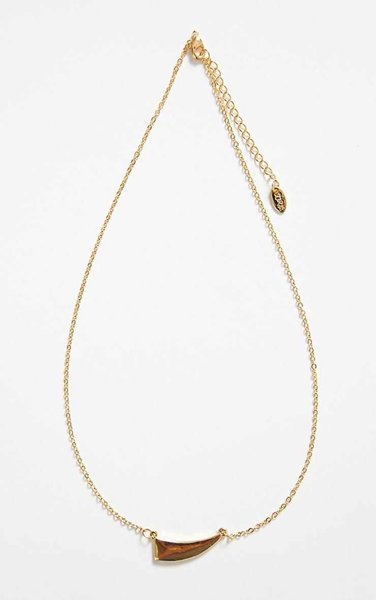 Gia Gold Pendant Necklace 3