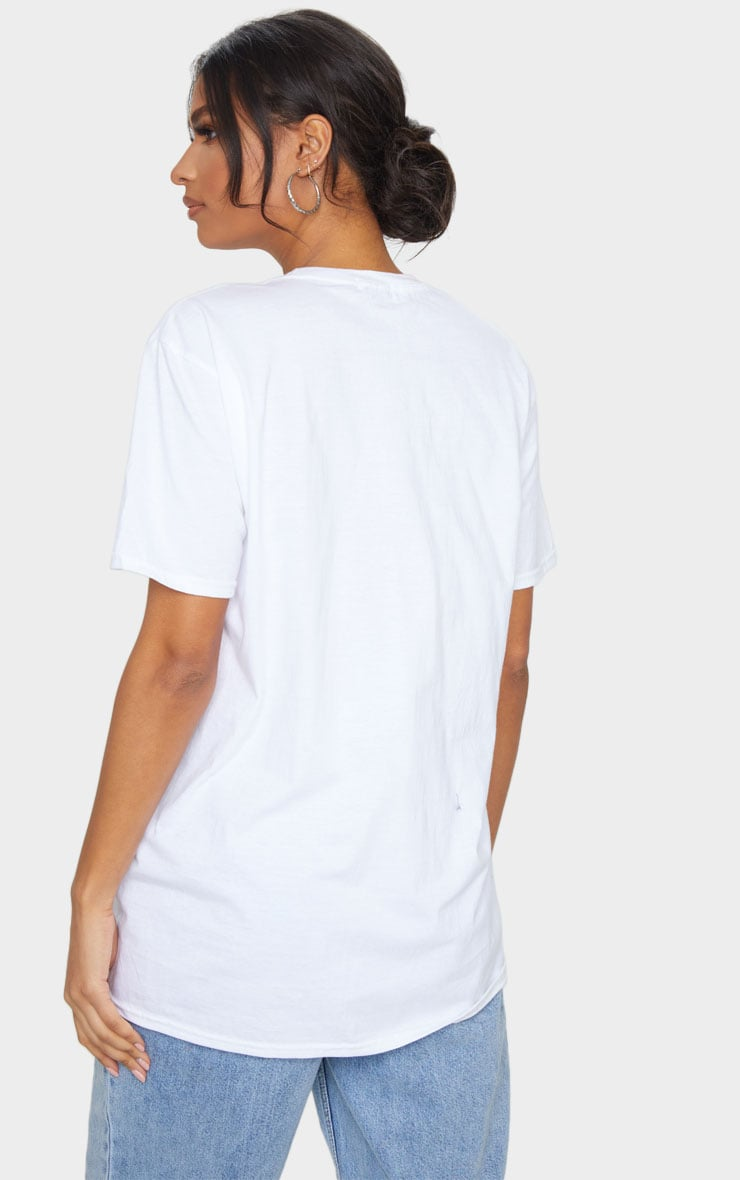 White Maybe Baby Printed T Shirt 2