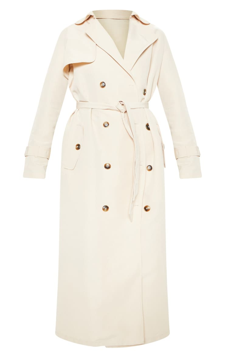 Stone Oversized Trench Coat 3