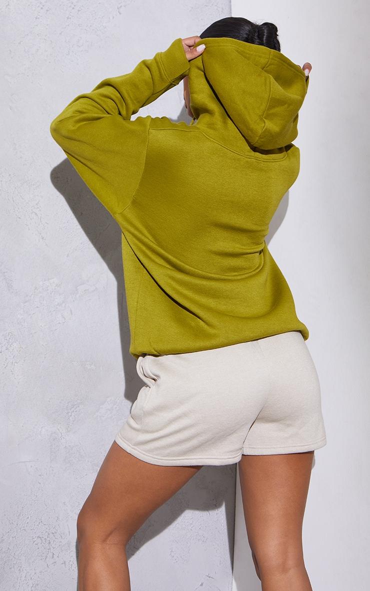 RENEW Olive Oversized Hoodie 2