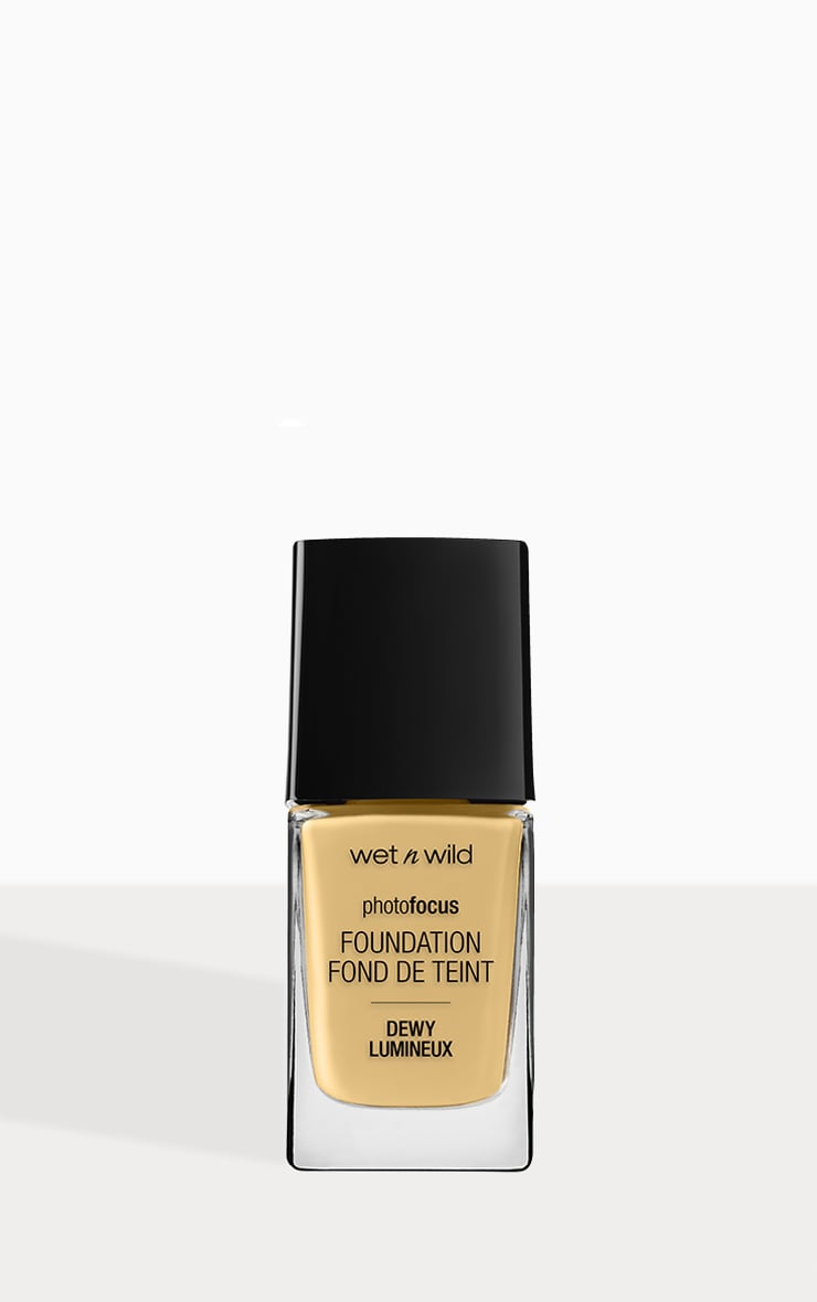 Wet n Wild Photo Focus Foundation Dewy Golden Beige 1