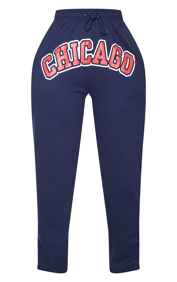 Navy Chicago Sweat Pant Joggers 5