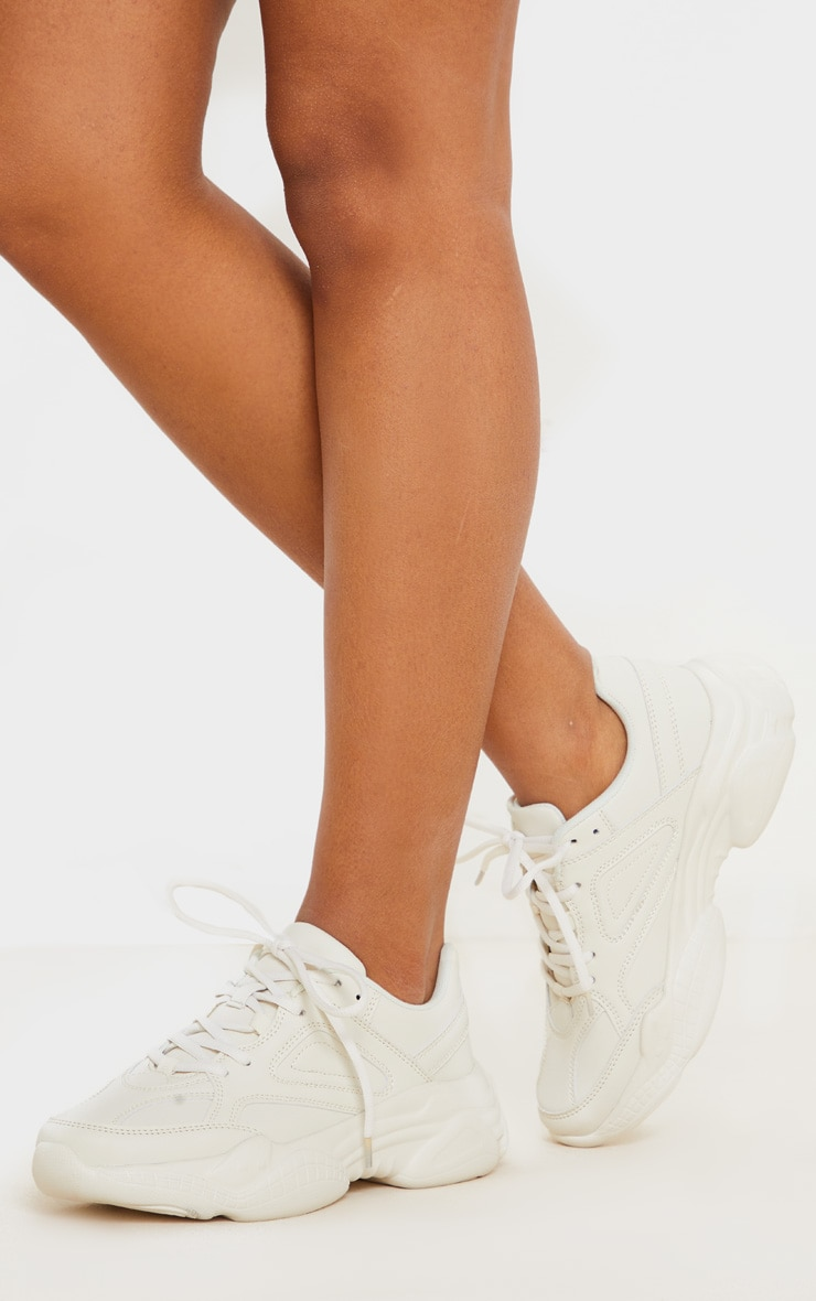 Ecru Arch Sole Chunky Sneakers 2