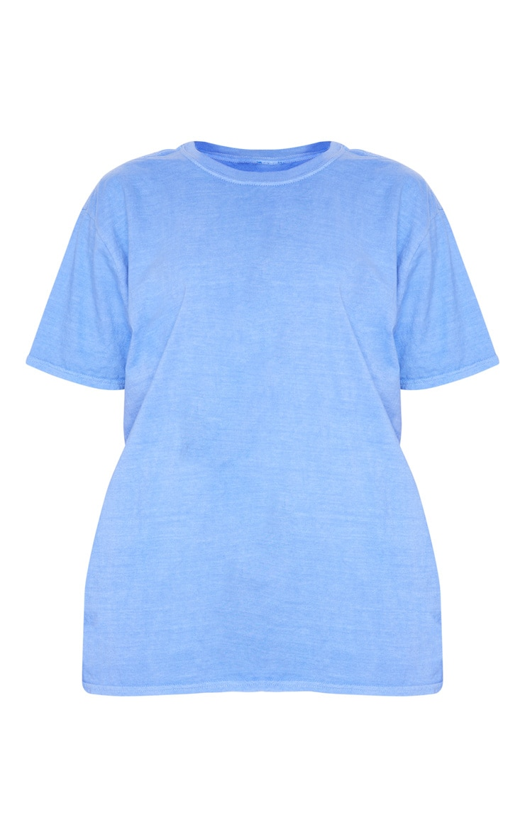 Blue Washed T Shirt 5