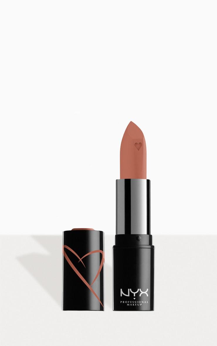 NYX PMU Shout Loud Satin Lipstick Peach Nude Silk 1