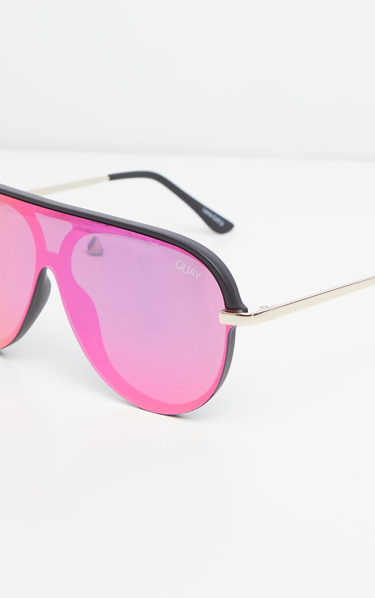QUAY Pink Purple Empire Sunglasses 2