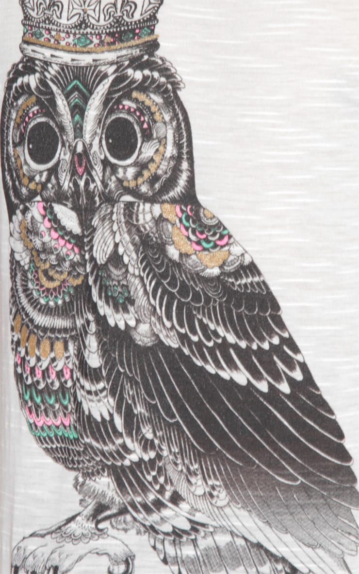 Saira Owl Motif Vest 6