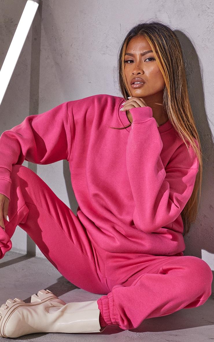 RENEW Pink Oversized Sweater 1