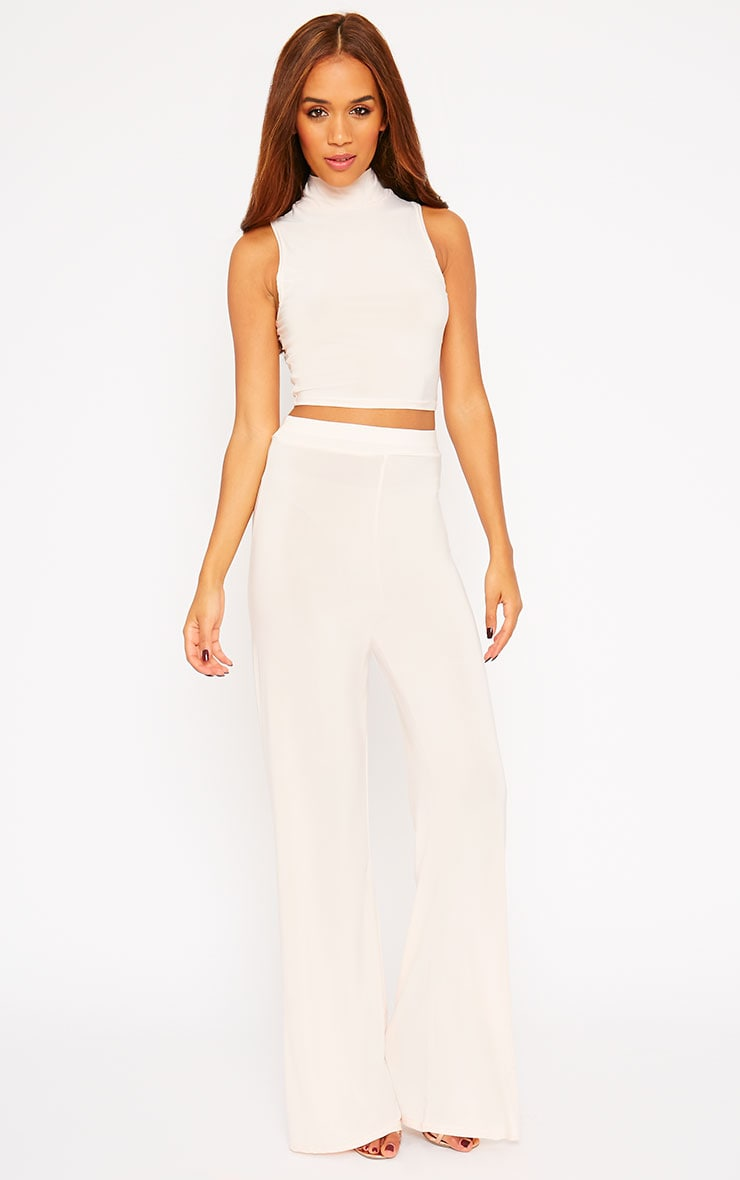 Remi Nude Soft Touch Crop Top 3