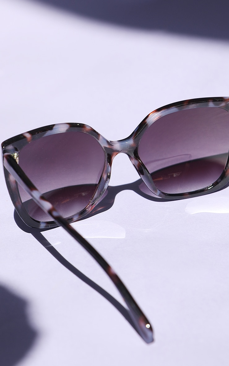 Brown Tortoise Cat Eye Sunglasses 4