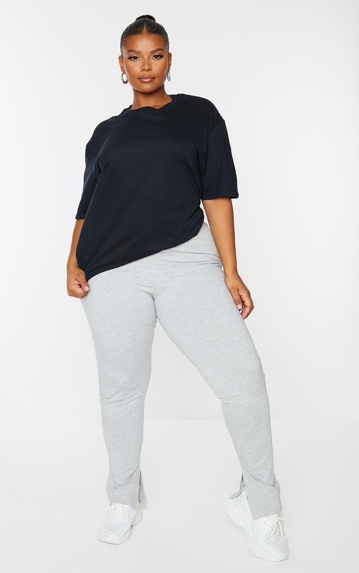 PLT Plus - Lot de 2 tee-shirt oversize classiques - Noir & Blanc 1