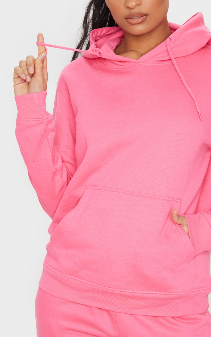 Candy Pink Ultimate Oversized Hoodie 4