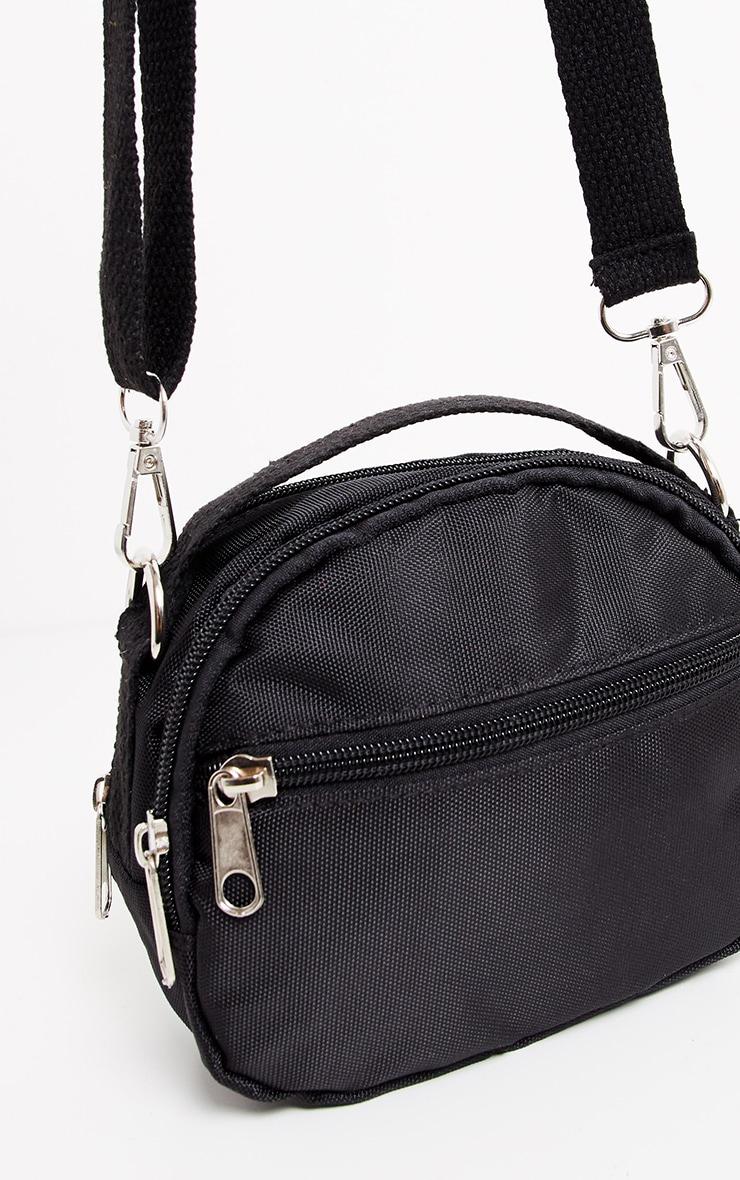 Black Nylon Mini Bag 4