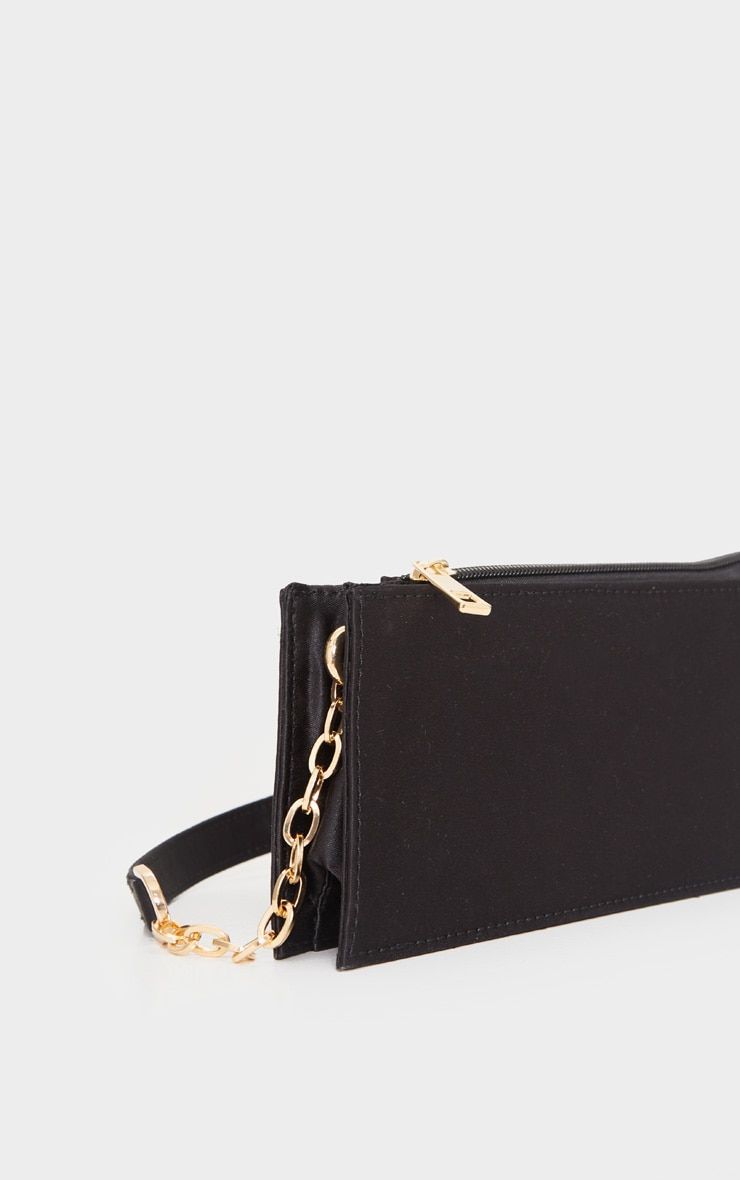 Black Chain Handle 90s Shoulder Bag 3