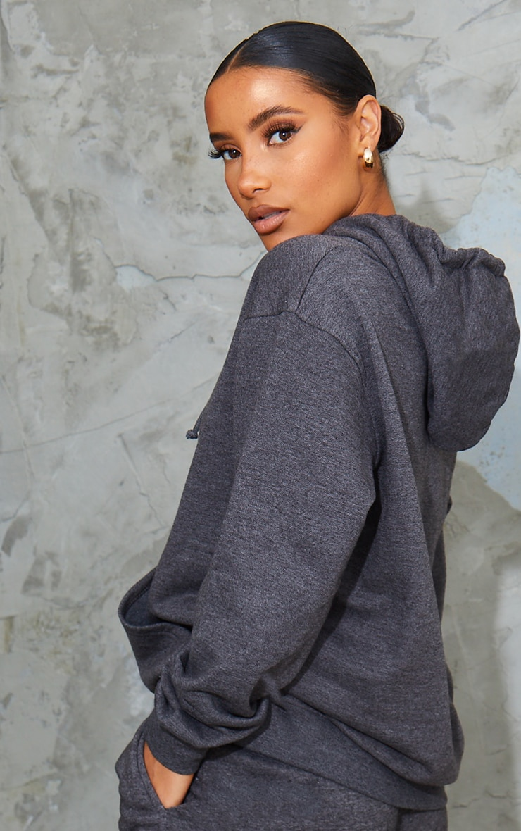 Charcoal Oversized Ultimate Hoodie 2