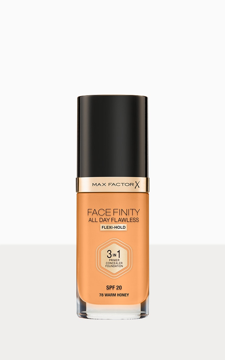 Max Factor Facefinity All Day Flawless Foundation Warm Honey 1