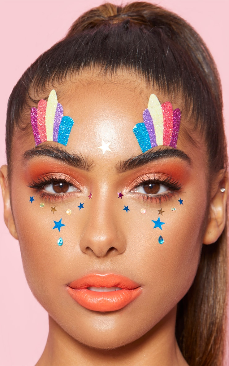 PRETTYLITTLETHING Star Face Jewels 1
