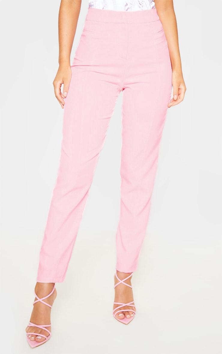 Avani pantalon de tailleur rose 2