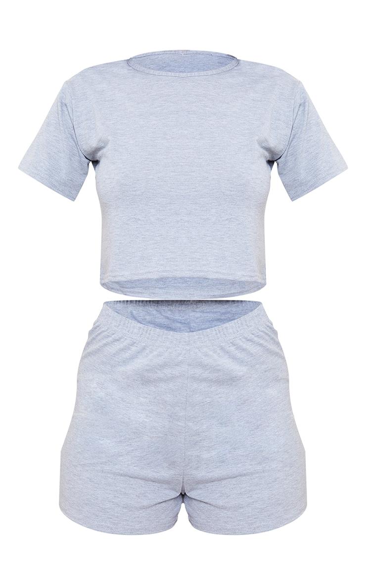 Grey Basic PJ Set 5
