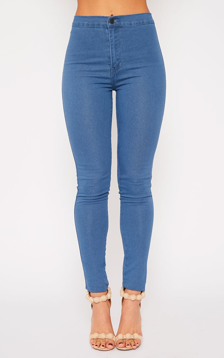 Jenna Blue Wash High Waist Jeans 4