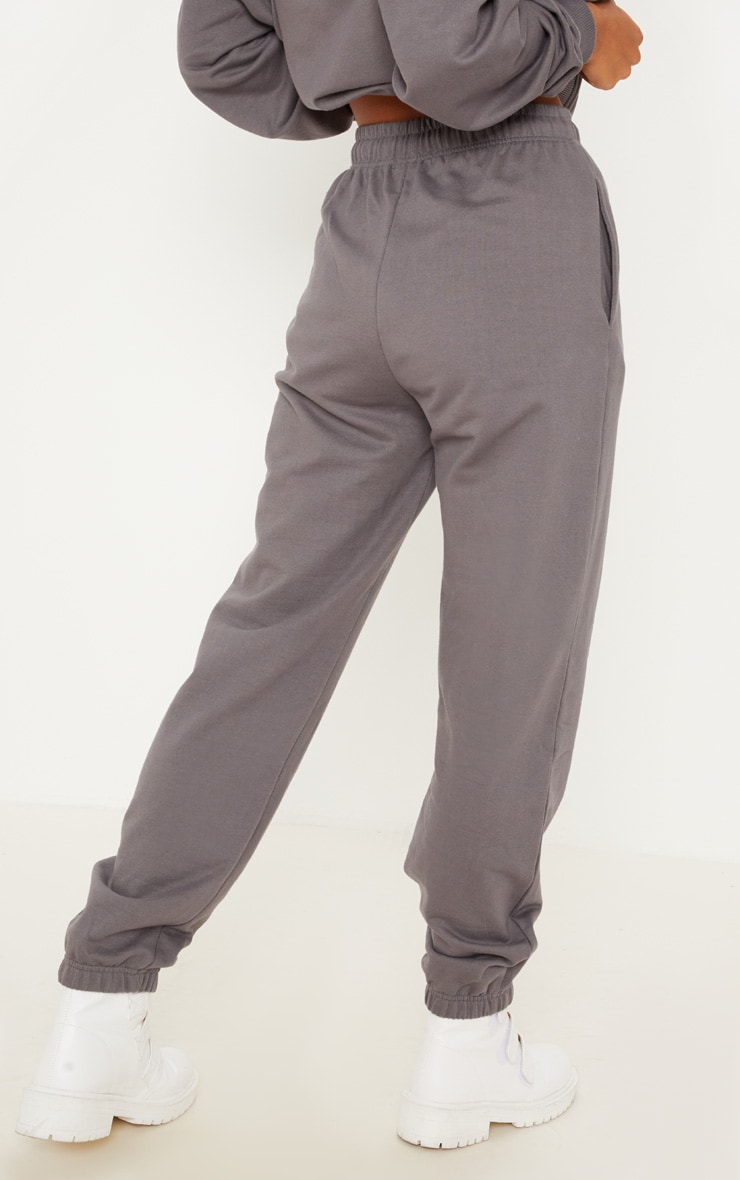 Charcoal Casual Joggers 4