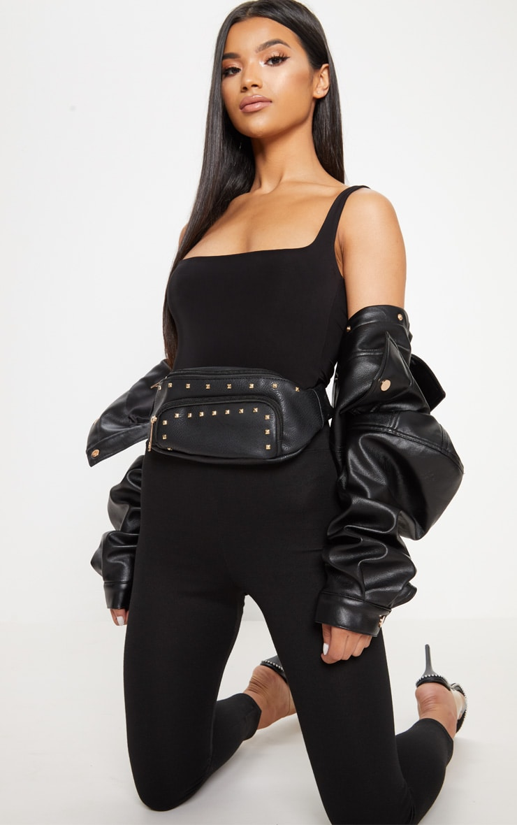 Black Stud Bum Bag 2