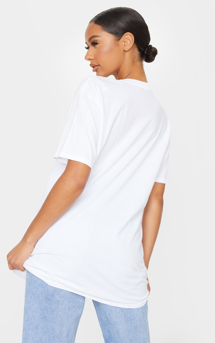 PRETTYLITTLETHING White Official T Shirt 2