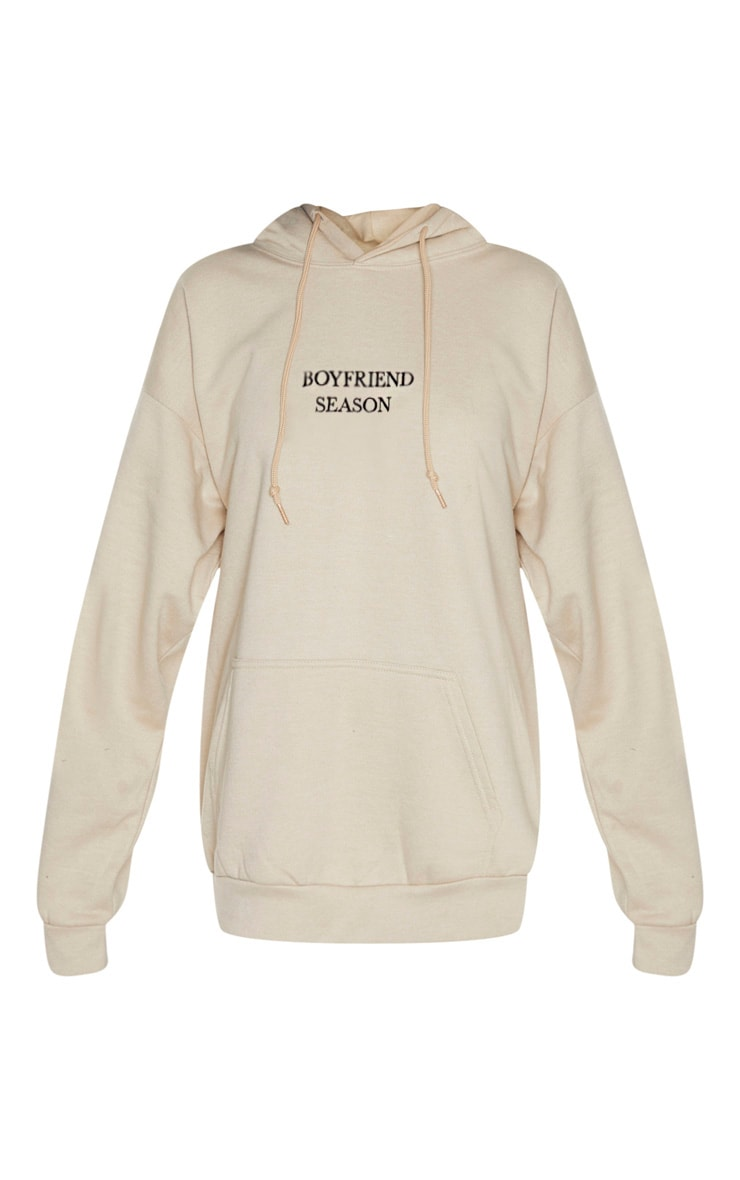 Sand Boyfriend Season Embroidered Hoodie 3