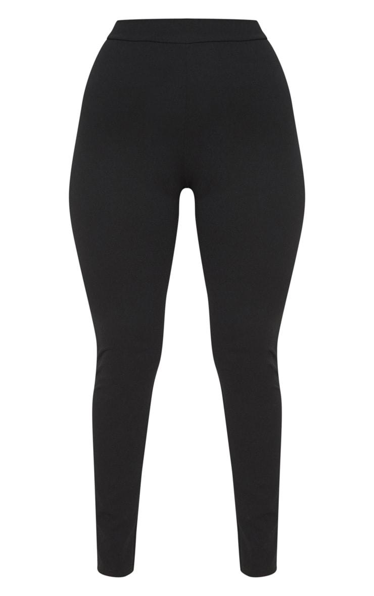 Black Contour Seam Legging  3