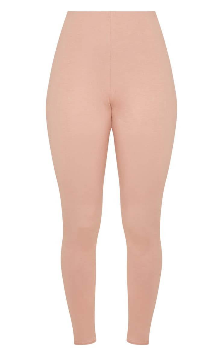 Peach High Waisted Cotton Stretch Legging 3