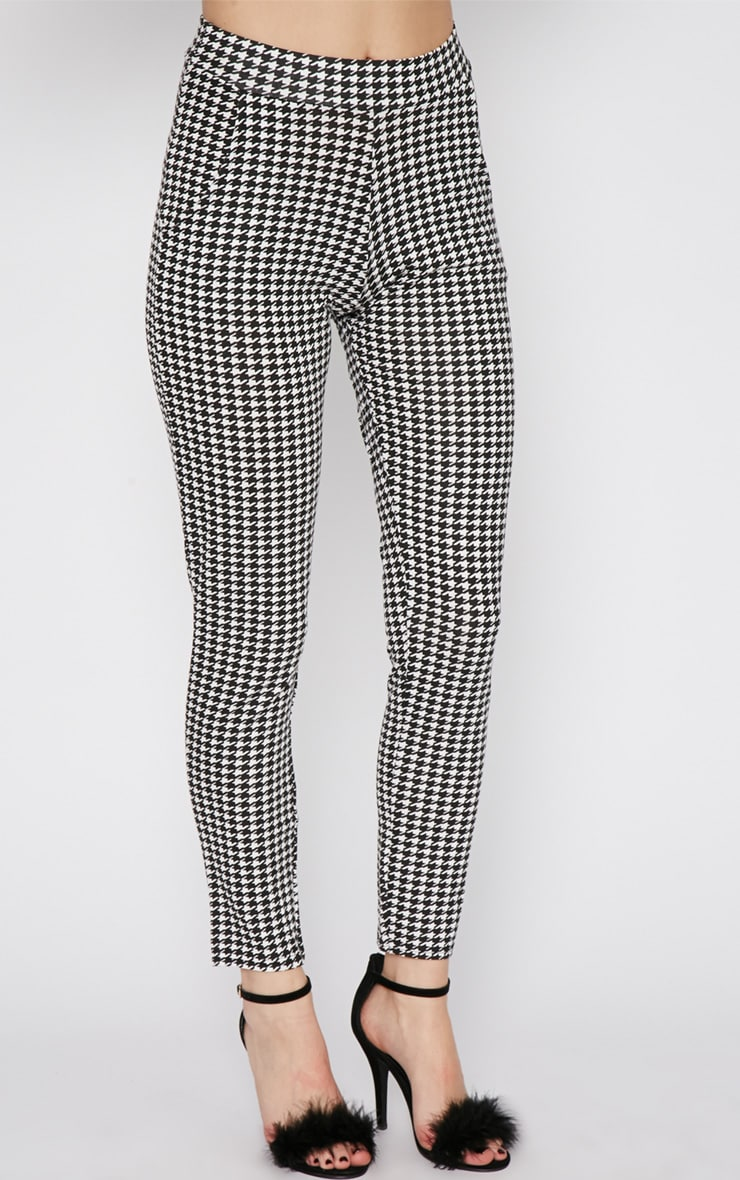 Camille Monochrome Dogtooth Trouser  3