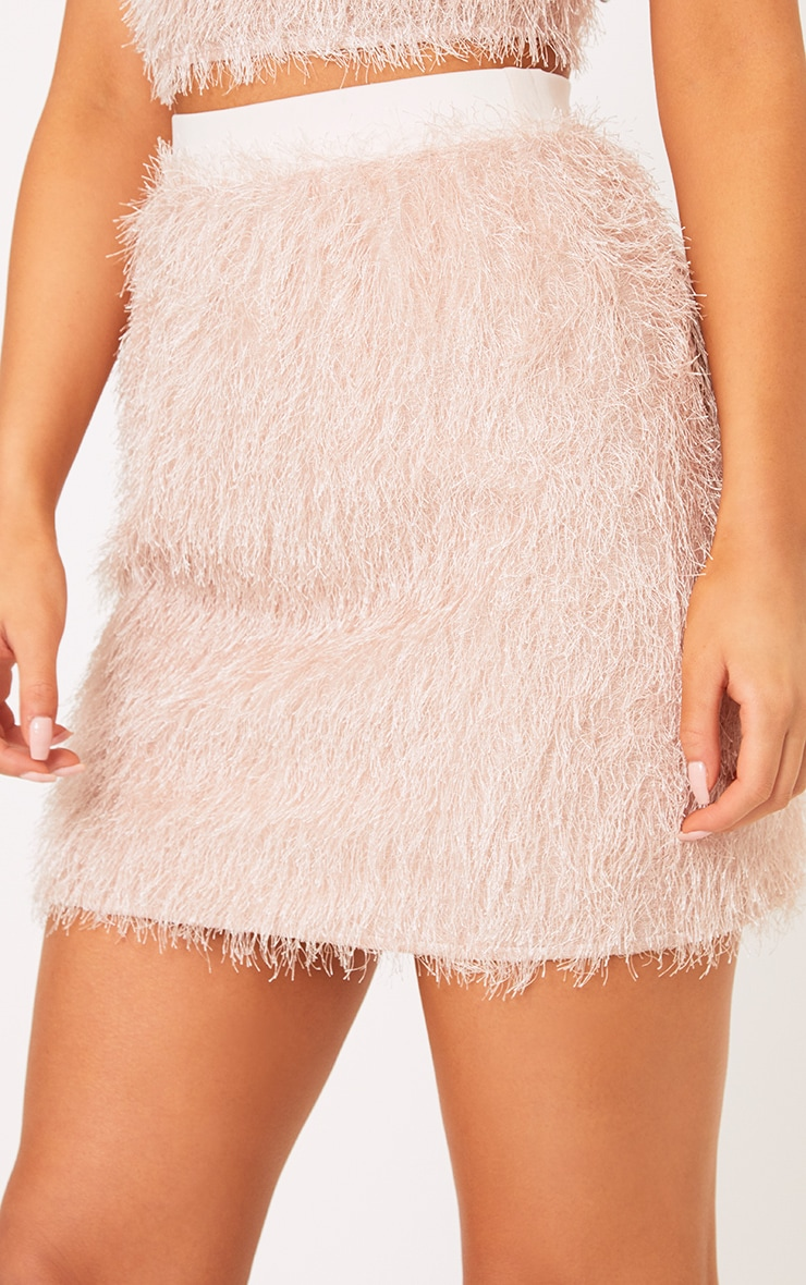 Diala Pink Eyelash  Mini Skirt  6