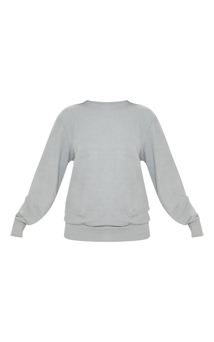Space Grey Ultimate Oversized Sweater 3